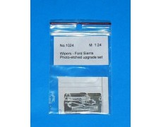 Photo-etched – special parts - wipers Ford Sierra