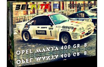 Kit – Opel Manta - Rally Ypres 1984 - J.McRae