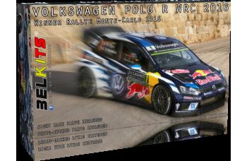 Kit –VW Polo R WRC - Rallye Monte Carlo 2016 Winner