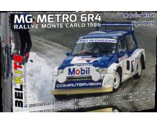 Kit – MG Metro 6R4 - Rallye Monte Carlo 1986 - Wilson / Harris