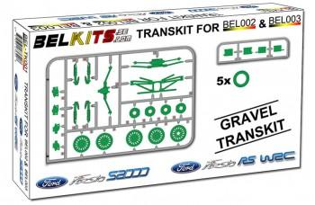 Transkit - gravel version Ford Fiesta RS WRC / Ford Fiesta S2000 1/24