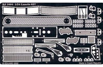 Photo-etched – special parts - Lancia 037