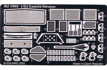 Photo-etched – special parts  - Lancia Stratos
