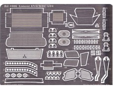 Photo-etched – special parts - Mitsubishi Lancer Evo WRC 2002