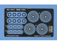 """Photo-etched – special parts - Wheels wire panel – BBS 15"""""""