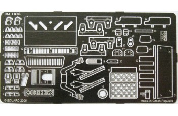 Photo-etched – special parts - Mercedes 230 G