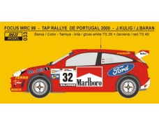 Decal – Ford Focus WRC Rally Portugal 2000 – J.Kulig