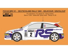 Decal – Ford Focus WRC 01 Rally Deutschland 2001 – Delecour