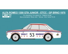 "Transkit – Alfa Romeo 1300 GTA Junior - ETCC 1975 ""Medleys Bourbon"""