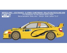 "Decal – Subaru Impreza WRC 04 ""JCB Finance"" -Deutschland 2006 – G. Jones"