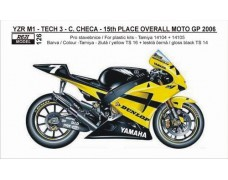 "Decal – Yamaha YZR M1 2006 ""TECH 3""  # 7 Checa"