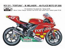 "Decal – Honda RCV 211 MotoGP 2006 -""FORTUNA"" # 33"