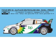 "Decal - Ford Focus WRC 04 ""BP"" - Rally Deutschland 2004"
