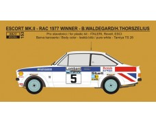 "Decal – Ford Escort RS 1800 ""British Airways"" - RAC 1977 winner"