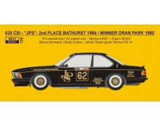 "Decal – BMW 635 CSi ""JPS"" - 2nd Bathurst 1984 / Winner Oran Park 1985"
