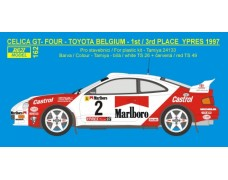 Transkit – Toyota Celica GT Four - 1997 Rally Ypres