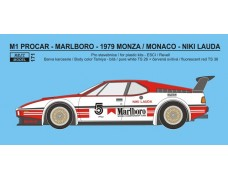 "Decal - BMW M1 Procar - 1979 / 1980 ""Marlboro"""