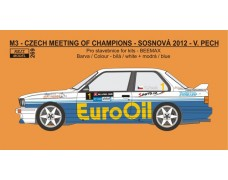 Decal – BMW M3 - 2012 Meeting of Czech champions - V.Pech
