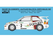 Decal – Escort RS Cosworth - Rallye El Corte Inglés 1997 - Thiry / Prévot