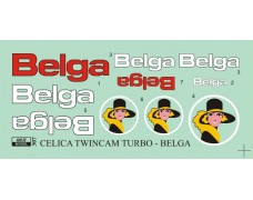 Decal – Celica TwinCam Turbo - Belga logos