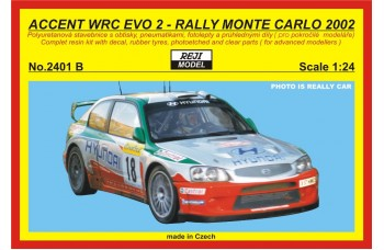 Kit – Accent WRC EVO 2 Rally Monte Carlo 2002