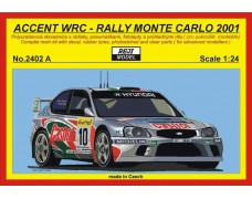 Kit – Accent WRC - Rally Monte Carlo 2001