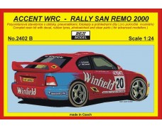 "Kit – Accent WRC ""Winfield"" - Rally San Remo 2000"