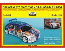Kit – 306 Maxi KitCar Evo Barum Rally 2004