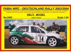 Kit – Fabia WRC Deutschland Rally 2003 / 2004