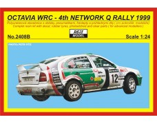Kit 1/24 – Octavia WRC - Network Q rally 1999 - Thiry / Prevot