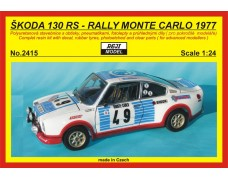 Kit – Š 130 RS Rally Monte Carlo 1977