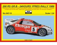 "Kit – RS 200 ""Belga"" - 1986 Rally Ypres - R.Droogmans"