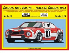 "Kit – Š 180/200 RS ""Official""  Rally Škoda 1974"