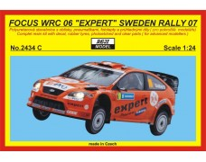 Kit – Focus WRC 06 - Rally Sweden 2007 - Solberg H.