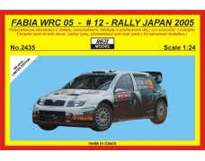 Kit – Fabia WRC 05 - Rally Japan 2005/Hirvonen - LIMITED EDITION