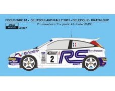 Decal – Ford Focus WRC 01 Rally Deutschland 2001