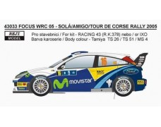 Decal - Ford Focus WRC 04 - Tour de Corse 2005