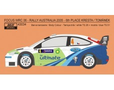 Decal - Ford Focus WRC 06 - Rally Australia 2005