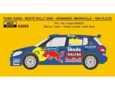 Decal – Fabia S2000 Rally Finland 2009