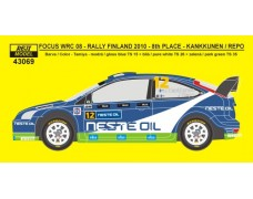 Decal – Ford Focus WRC 08 - Neste Oil Rallye Finland 2010