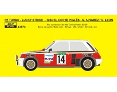 "Decal – Renault 5 Turbo ""LUCKIES"" - Rallye El Corte Inglés 1984"