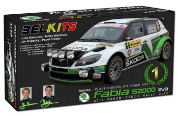 Kit – Škoda Fabia S2000 EVO - Barum rally 2012 - Škoda Motorsport