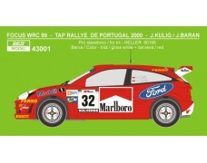Decal -Ford Focus WRC - Rally Portugal 2000 - J.Kulig