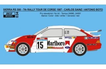 Transkit - Ford Sierra 500 RS - 7th Tour de Corse 1987 - Sainz / Boto