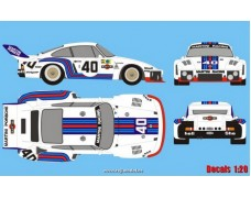Decal - Porsche 935 Turbo - Le Mans1976 - Stommelen/Schurti