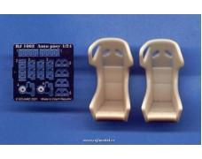 Transkit - Sportovní sedačky s přezkami Type B