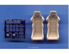 Transkit - Sportovní sedačky s přezkami Type A