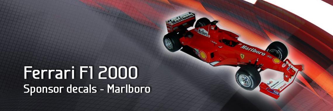 Ferrari F1 2000 - Sponsor logo